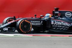 Alonso close up