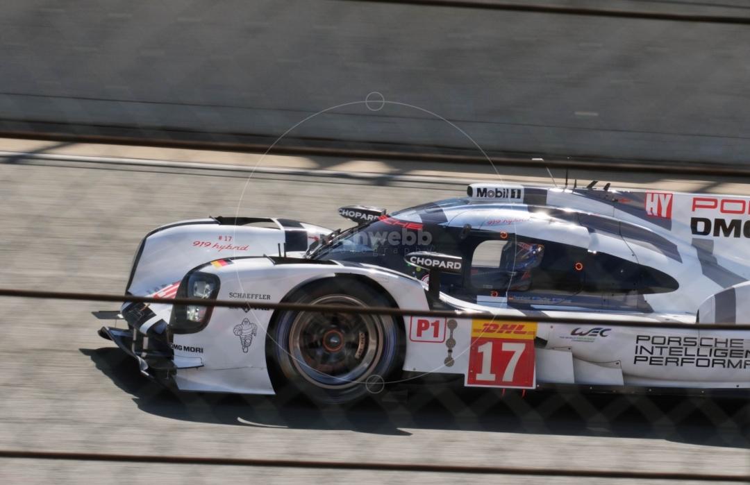 Webber off the line